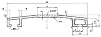 Hliníkové profily obr.05