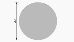 Hliníkové kruhové tyče - kulatiny