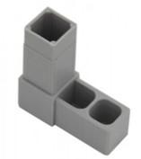 Plast. spojka pro J20x20x1,5  L