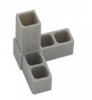 Plast. spojka pro J20x20x1,5  3D