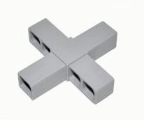 Plast. spojka pro J20x20x1,5  KŘÍŽ