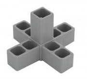 Plastová spojka 20x20x1,5  5D