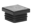 Plast. koncovka pro J40x40x2  černá